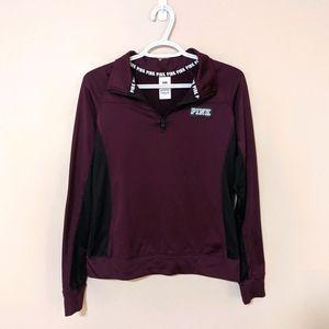 PINK by Victoria's Secret Athletic Jacket 1/4 Zip